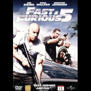 u14765 Fast & Furious 5 (UDEN COVER)