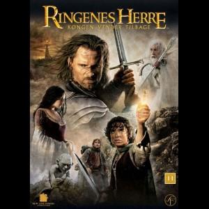 u11767 Ringenes Herre 3: Kongen Vender Tilbage (UDEN COVER)