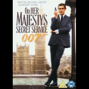 u12166 On Her Majestys Secret Service (UDEN COVER)