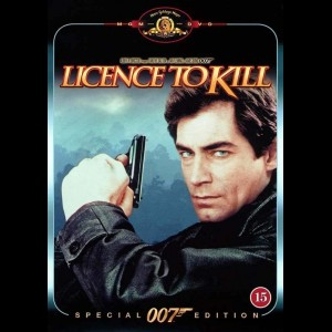 u13671 Licence To Kill (UDEN COVER)