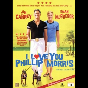 u14606 I Love You Phillip Morris (UDEN COVER)