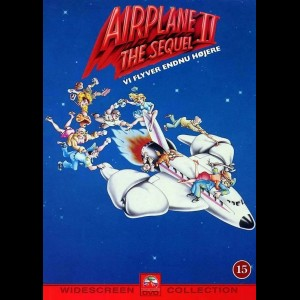 u14476 Airplane 2: The Sequel (UDEN COVER)