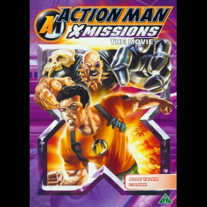 u5403 Action Man: X Missions The Movie (UDEN COVER)