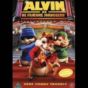 u12505 Alvin Og De Frække Jordegern (UDEN COVER)