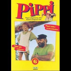 u12581 Pippi Langstrømpe 6 (UDEN COVER)