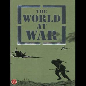 The World At War Boks (Kæmpe 13 disc dokumantarserie om 2. verdenskrig - Fortæller: Sir Laurence Olivier)