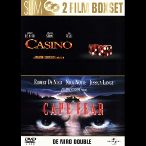 Casino + Cape Fear (1991)  -  2 disc