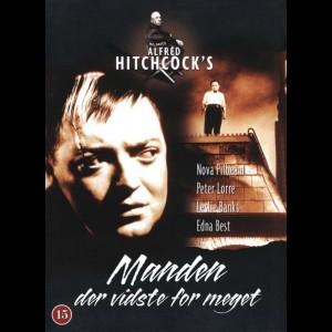 u11437 Manden Der Vidste For Meget (1934) (The Man Who Knew Too Much) (UDEN COVER)