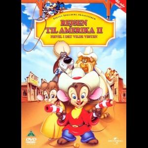 u5939 Rejsen Til Amerika 2: Fievel I Det Vilde Vesten (UDEN COVER)