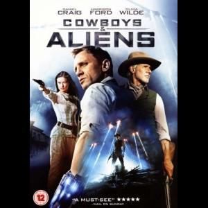 u10848 Cowboys & Aliens (UDEN COVER)