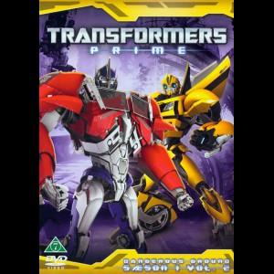 Transformers Prime: Sæson 1 - Vol. 2: Dangerous Ground