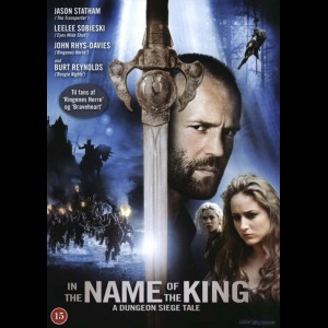 u13888 In The Name Of The King: A Dungeon Siege Tale (UDEN COVER)