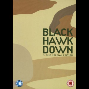 -3187 Black Hawk Down - 3 disc (KUN ENGELSKE UNDERTEKSTER)