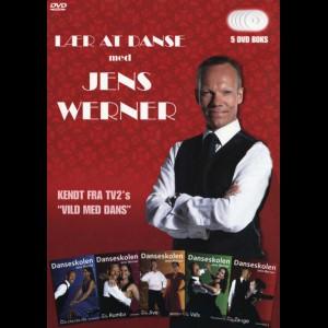Lær At Danse Med Jens Werner Boks  -  5 disc