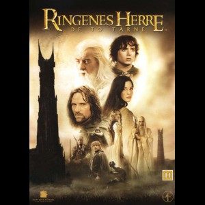 -3601 The Lord of the Rings: The Two Towers (2-disc) (KUN ENGELSKE UNDERTEKSTER)