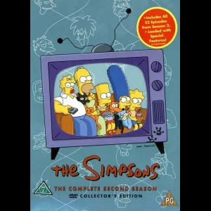 -3052 The Simpsons: Sæson 2 (KUN ENGELSKE UNDERTEKSTER)