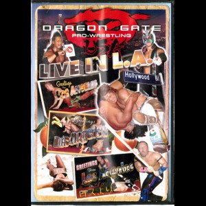 -426 Dragon Gate Pro-Wrestling: Live In L.A (INGEN UNDERTEKSTER)