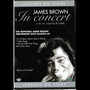 James Brown - In Concert