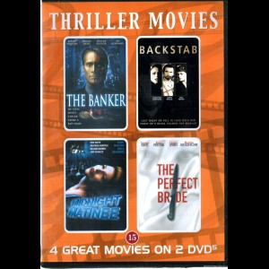 Thriller Movies  (The Banker + 3 mere)