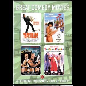 Great Comedy Movies (4 Film bl.a. The Secret Agent Club m.fl.)