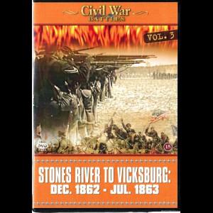 Civil War Battles - Volume 3: Stones River To Vicksburg