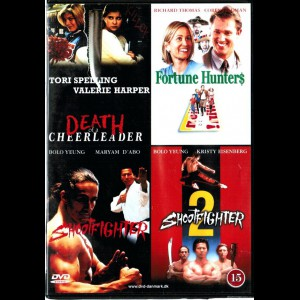 Death Of A Cheerleader + Fortune Hunters + Shootfighter + Shootfighter 2