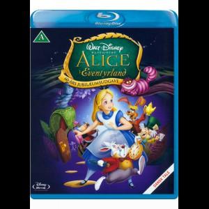 Alice I Eventyrland - Disney Klassiker - Guldnummer 13 (KUN BLU-RAY)