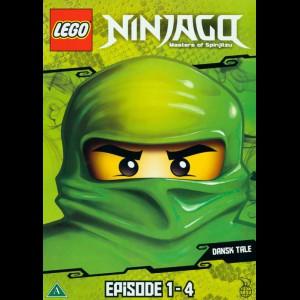 LEGO: Ninjago - Masters Of Spinjitzu Episode 1-4