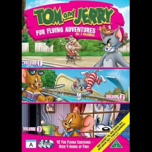Tom & Jerry: Fur Flying Adventures Volume 1-3