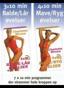 Charlotte Bircow: 7 x 10min Mave, Ryg, Balder og Lår