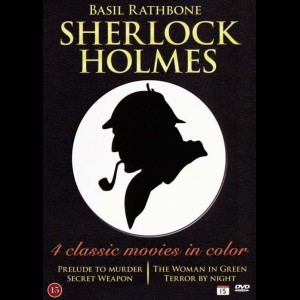 Sherlock Holmes: 4 Classic Movies In Color (Colorised)