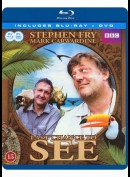 Nu Eller Aldrig - Stephan Fry & Mark Carwardine [4-disc Combo 2xBlu-ray + 2xDVD]