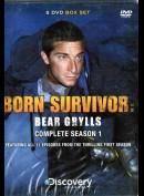 -1898 Born Survivor: Bear Grylls Complete Season 1 (Box) (UDEN DANSKE UNDERTEKSTER)