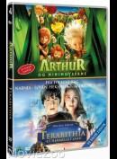 TEST     Arthur og Minimoyserne / Terabithia - Et Hemmeligt Land - 2 disc