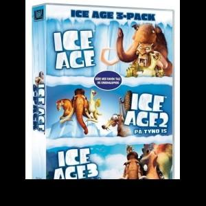 Ice Age 1-3 Boks  -  3 disc