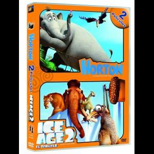 Dr. Seuss: Horton Og Støvfolket Hvem + Ice Ige  -  2 disc