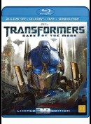 Transformers: Dark of the Moon (KUN BLU-RAY OG BLU-RAY 3D)