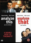 OPRETTES SOM UDEN COVER        Analyze This + Analyze That  -  2 disc