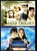 Sandtrolden + Terabithia  -  2 disc