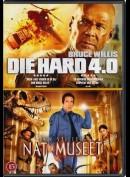 Die Hard 4.0 + Nat På Museet