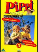 Pippi 5: Pippis Ballontur + Pippi Som Skibbruden