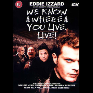 -3205 Eddie Izzard: We Know Where You Live (KUN ENGELSKE UNDERTEKSTER)