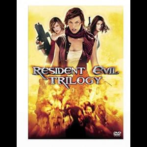 Resident Evil Triology  -  3 disc