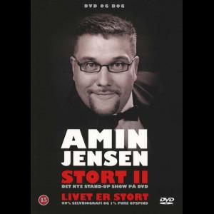 Amin Jensen: Stort 2 - Livet Er Stort (2008) (Med Bog)