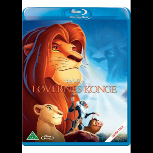 Løvernes Konge - Disney Klassiker - Guldnummer 32 (KUN BLU-RAY)