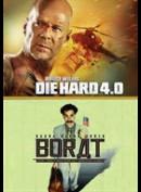 Die Hard 4.0 + Borat