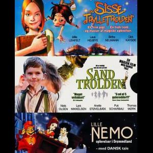 Sisse Og Trylletrolden + Sandtrolden + Lille Nemo