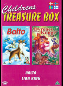 Childrens Treasure Box: Balto + Dyrenes Konge
