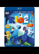 Rio (tegnefilm) [Blu-Ray-3D+2D+DVD Combo]