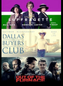 Saffragette + Dallas Buyers Club + Out Of The Furnace  -  3 disc